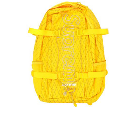 SUPREME BACKPACK YELLOW FW18