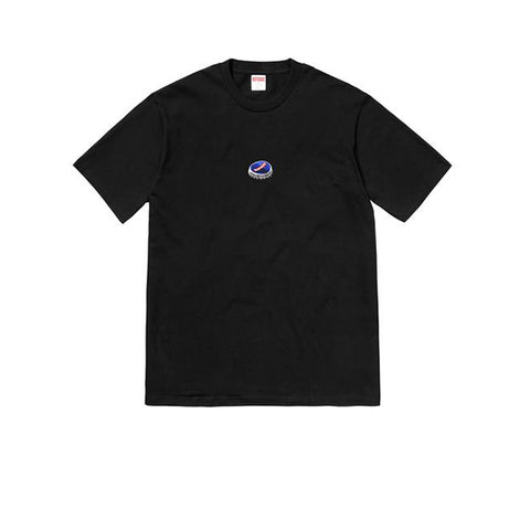 "SUPREME BOTTLE CAP TEE ""BLACK"" FW18"
