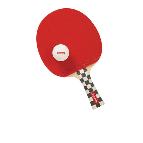 SUPREME BUTTERFLY TABLE TENNIS RACKET SET CHECKERBOARD FW19