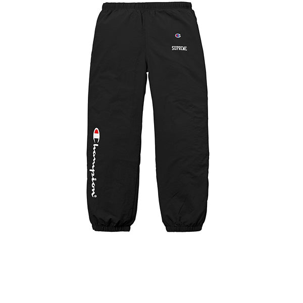 "SUPREME CHAMPION TRACK PANTS ""BLACK"""