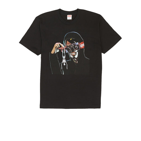 SUPREME CREEPER TEE BLACK SS19