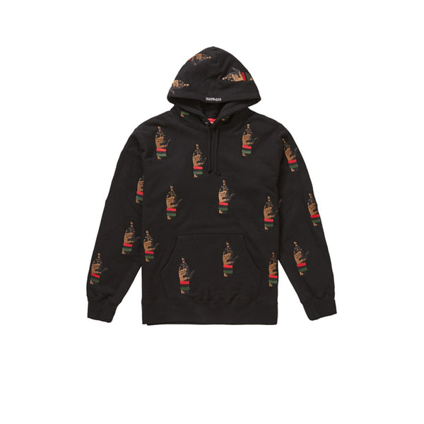 SUPREME DEAD PREZ RBG EMBROIDERED HOODED SWEATSHIRT BLACK FW19