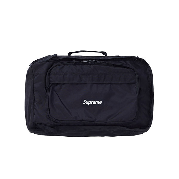 SUPREME DUFFLE BAG BLACK FW19