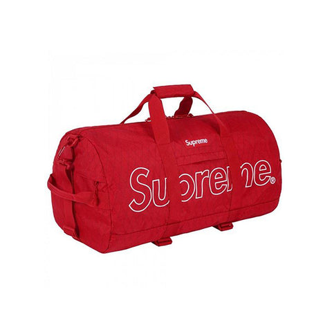 SUPREME DUFFLE BAG RED FW18