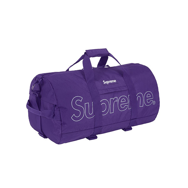 SUPREME DUFFLE BAG PURPLE FW18