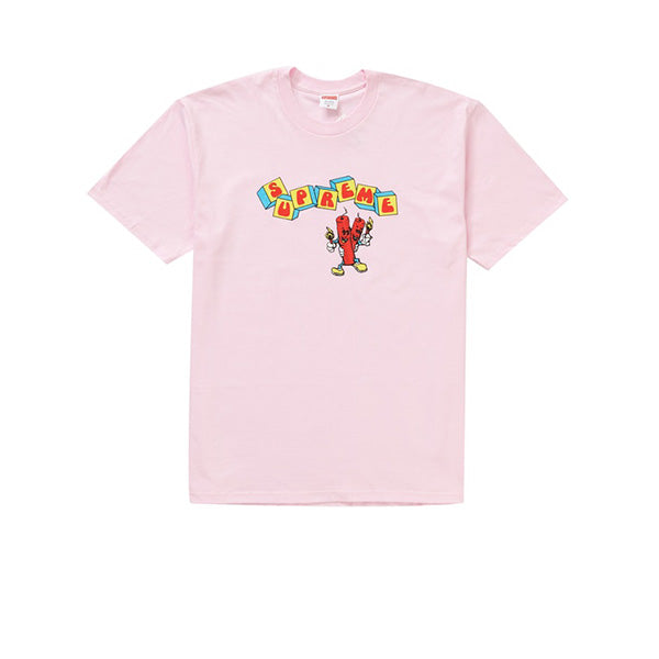 SUPREME DYNAMITE TEE LIGHT PINK SS19
