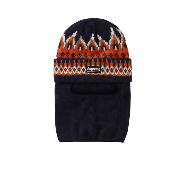 SUPREME FACEMASK BEANIE NAVY FW19