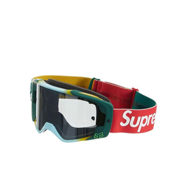 SUPREME FOX RACING VUE GOGGLES MOSS FW19