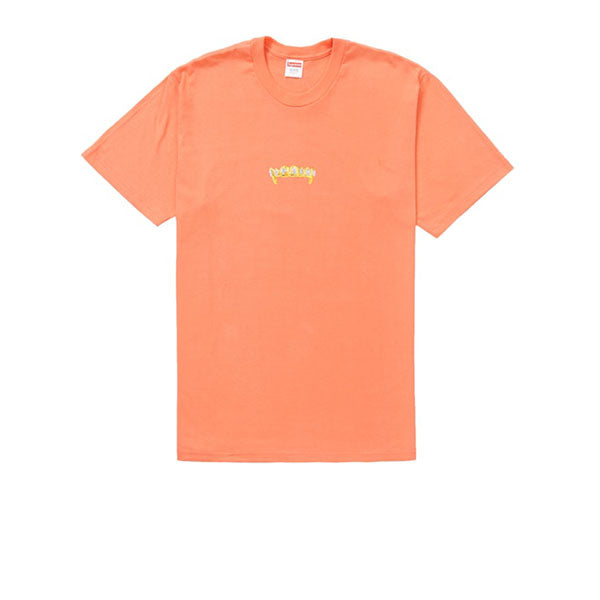 SUPREME FRONTS TEE NEON ORANGE SS19