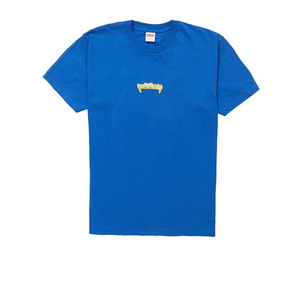 SUPREME FRONTS TEE ROYAL SS19