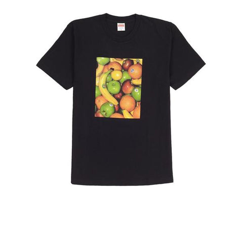 SUPREME FRUIT TEE BLACK SS19