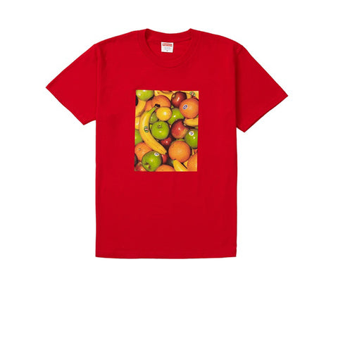 SUPREME FRUIT TEE RED SS19