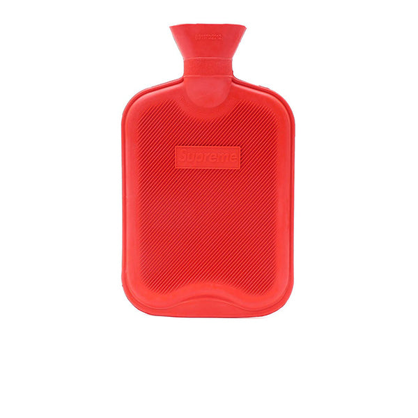 SUPREME HOT WATER BOTTLE RED FW16