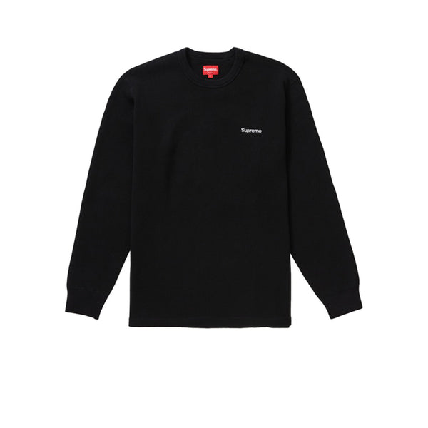 SUPREME HQ WAFFLE THERMAL BLACK FW19