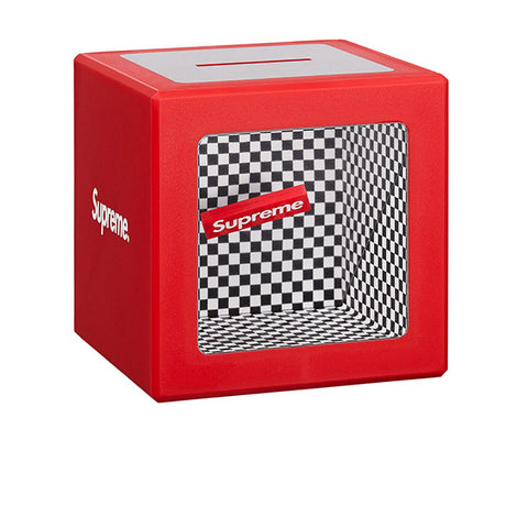 "SUPREME ILLUSION COIN BANK ""RED"" SS18"