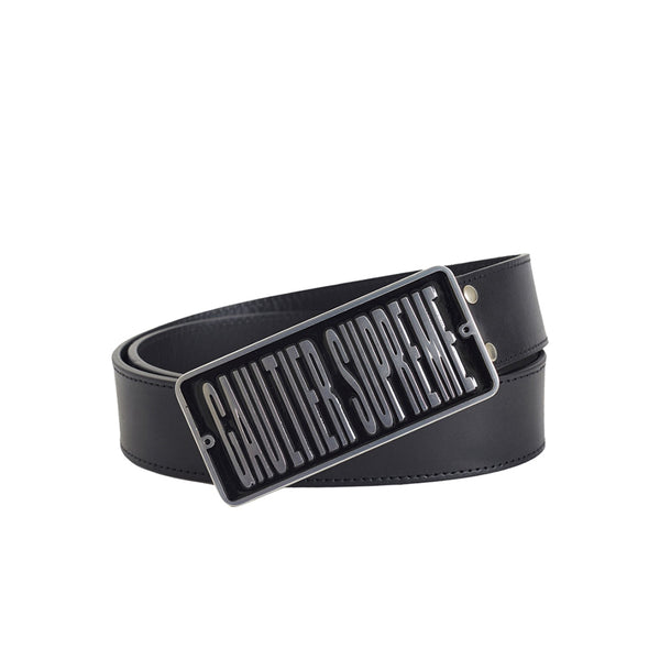 SUPREME JEAN PAUL GAULTIER BELT BLACK SS19