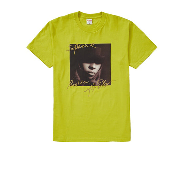 SUPREME MARY J. BLIGE TEE SULFUR FW19