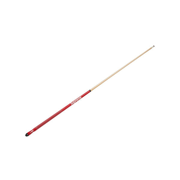 MCDERMOTT x SUPREME POOL CUE RED SS19
