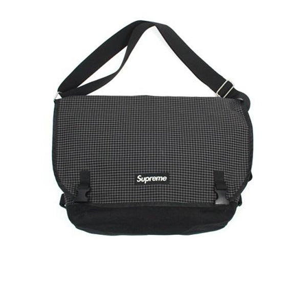 SUPREME MESSENGER BAG BLACK FW09