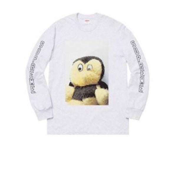 SUPREME MIKE KELLEY L/S TEE WHITE FW18