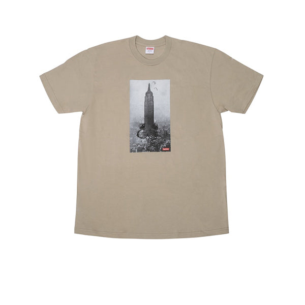 SUPREME MIKE KELLEY THE EMPIRE STATE BUILDING TEE CLAY FW18
