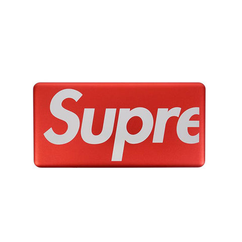 "SUPREME MOPHIE POWERSTATION PLUS MINI ""RED"" SS17"