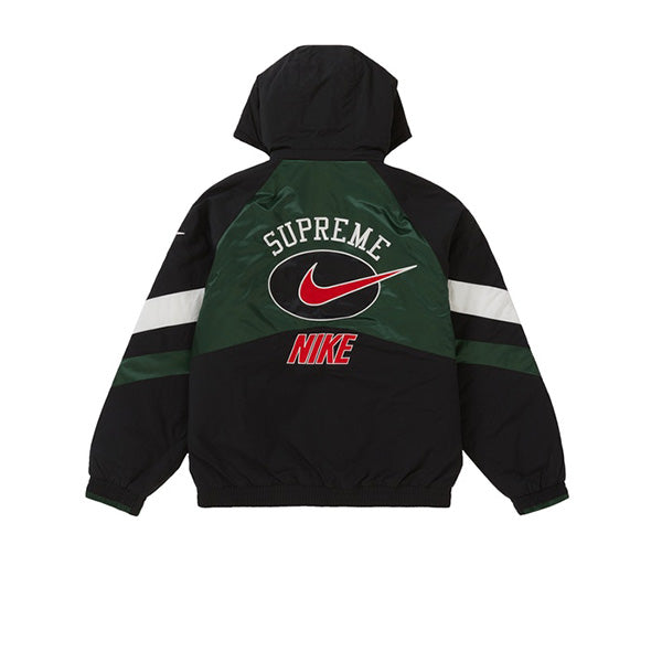 SUPREME X NIKE HOODED SPORT JACKET GREEN SS19