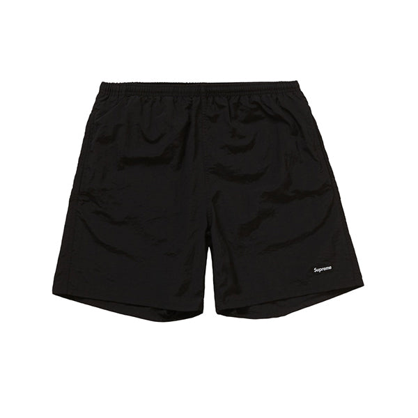 SUPREME NYLON WATER SHORT BLACK SS19