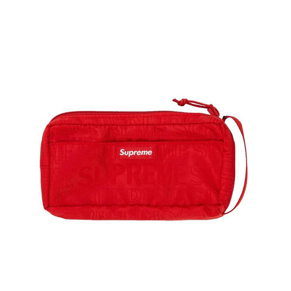 SUPREME ORGANIZER POUCH RED SS19