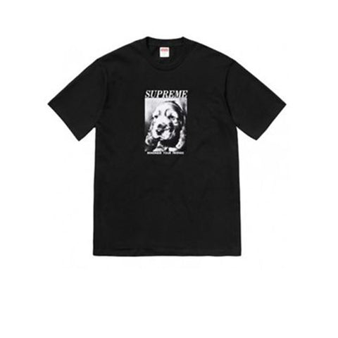 SUPREME REMEMBER TEE NAVY FW18
