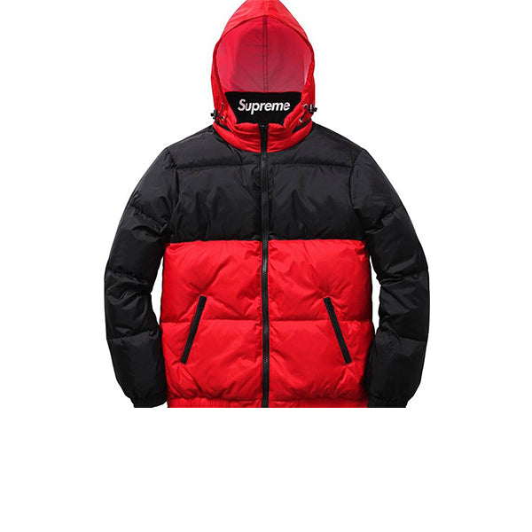 SUPREME REVERSEABLE PUFFY WINTER JACKET FW14