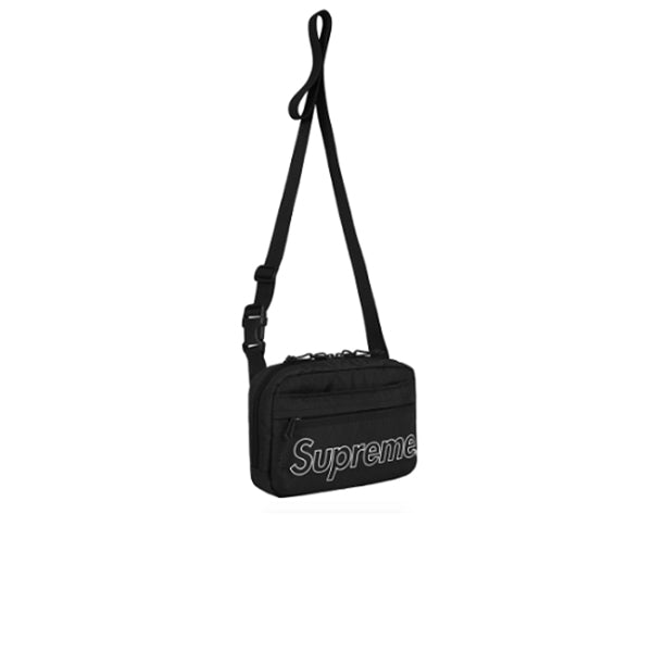 SUPREME SHOULDER BAG BLACK FW18