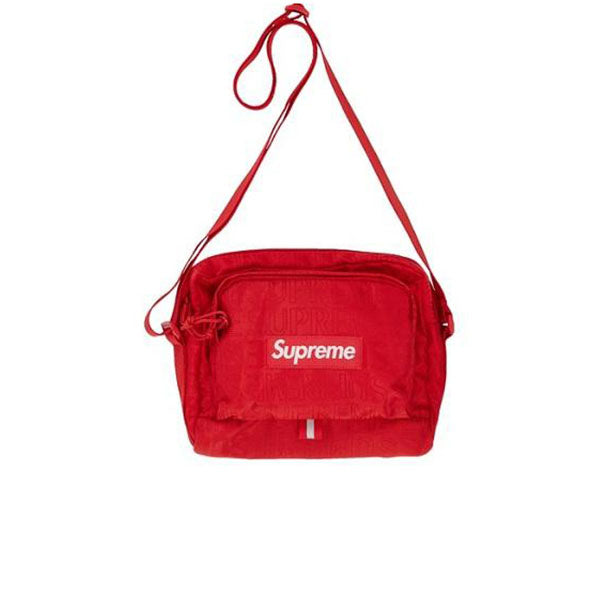 SUPREME SHOULDER BAG RED SS19