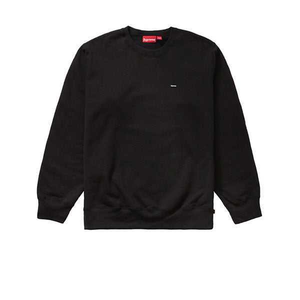 SUPREME SMALL BOX CREWNECK BLACK FW19