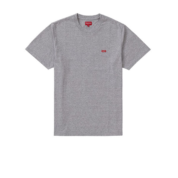 SUPREME SMALL BOX TEE HEATHER GREY SS19