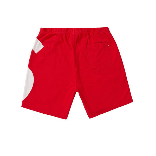 SUPREME S LOGO SHORTS RED SS19