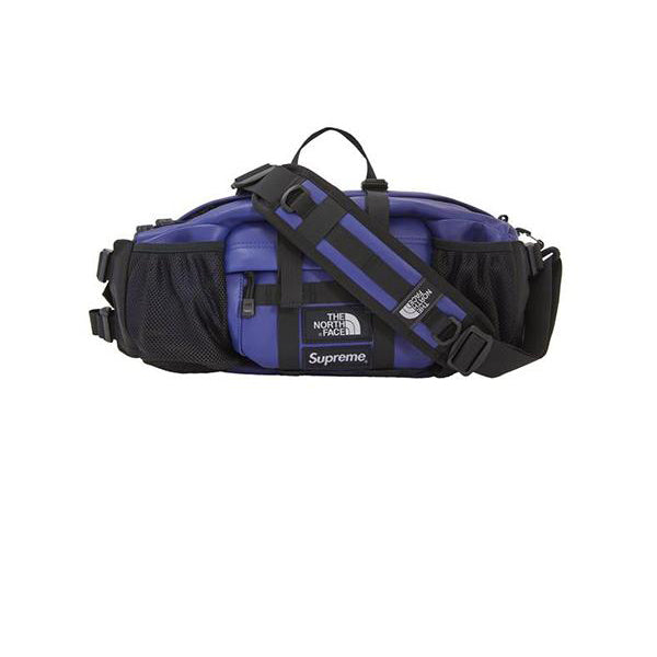 425079497b3e SUPREME THE NORTH FACE LEATHER MOUNTAIN WAIST BAG ROYAL FW18 – Stay ...