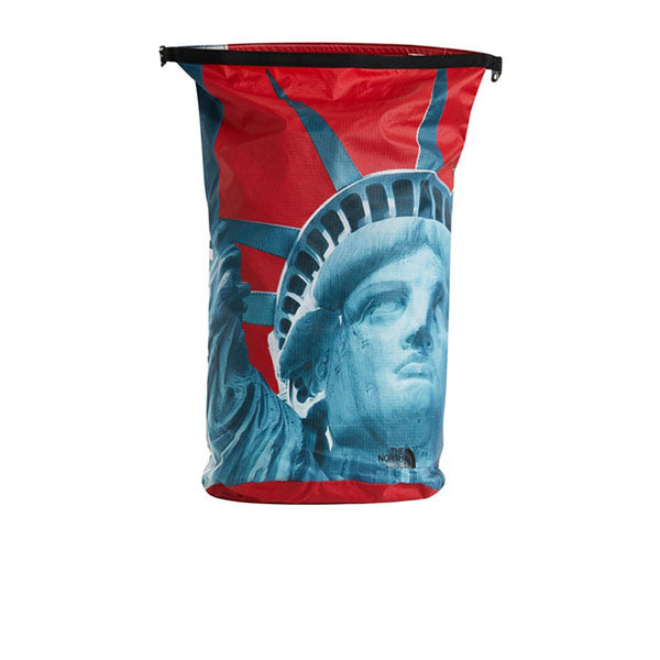 SUPREME THE NORTH FACE STATUE OF LIBERTY WATERPROOF BACKPACK RED FW19