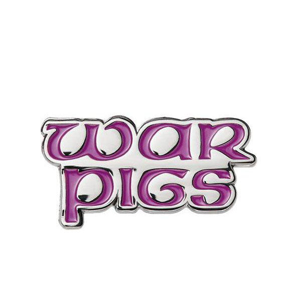SUPREME WAR PIGS PIN PURPLE SS16