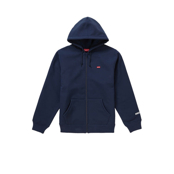 SUPREME WINDSTOPPER ZIP UP HOODED SWEATSHIRT NAVY FW19