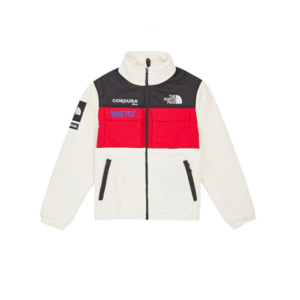 9b471324f SUPREME x THE NORTH FACE EXPEDITION FLEECE WHITE FW18