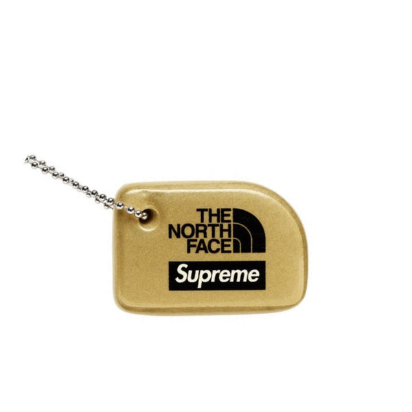 SUPREME x THE NORTH FACE FLOATING KEYCHAIN GOLD SS20