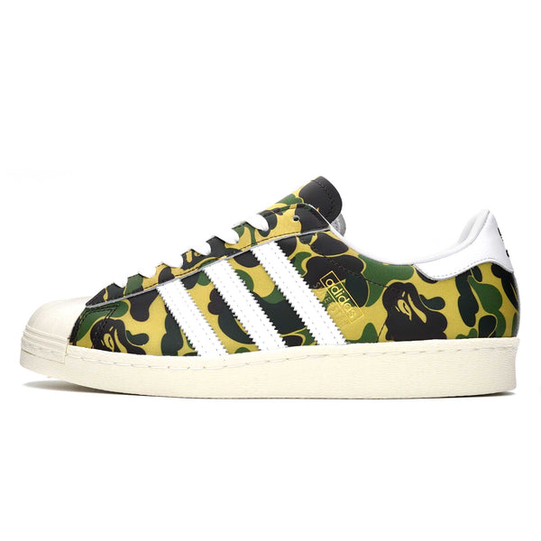 ADIDAS SUPERSTAR BAPE ABC CAMO GREEN