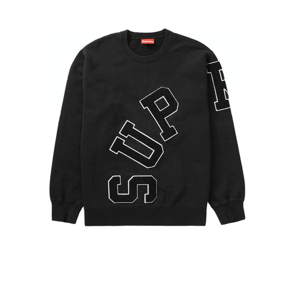 SUPREME BIG ARC CREWNECK BLACK FW20