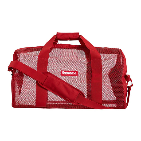 SUPREME BIG DUFFLE BAG DARK RED SS20