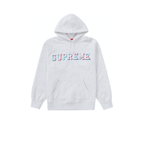 SUPREME DROP SHADOW HOODED SWEATSHIRT HEATHER MULTI FW20