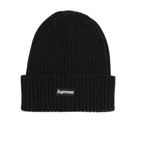 SUPREME OVERDYED BEANIE BLACK SS19