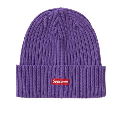 SUPREME OVERDYED BEANIE PURPLE SS19