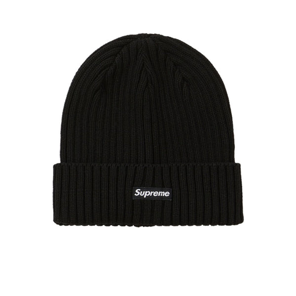 SUPREME OVERDYED BEANIE BLACK SS20