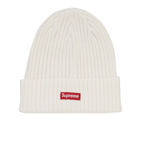 SUPREME OVERDYED BEANIE NATURAL SS19